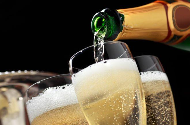 fakta champagne sampanye