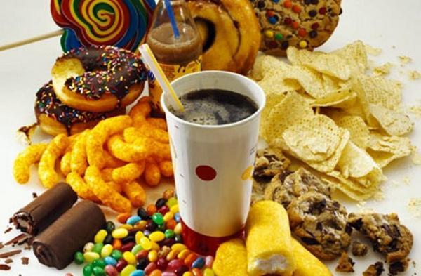 makanan junk food