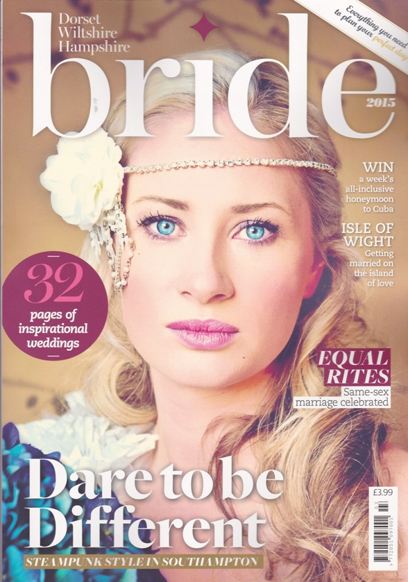Dorset Bride Magazine-Front Cover -December 2015