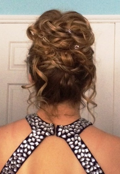 School prom Hair 2015 Amazing Face