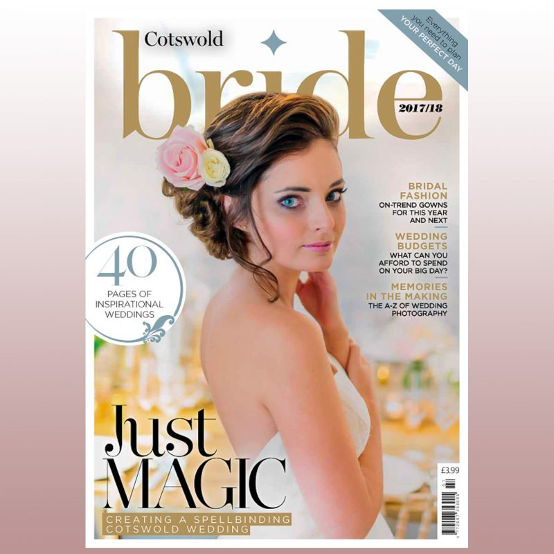 Cotswold Bride Front Page 2018