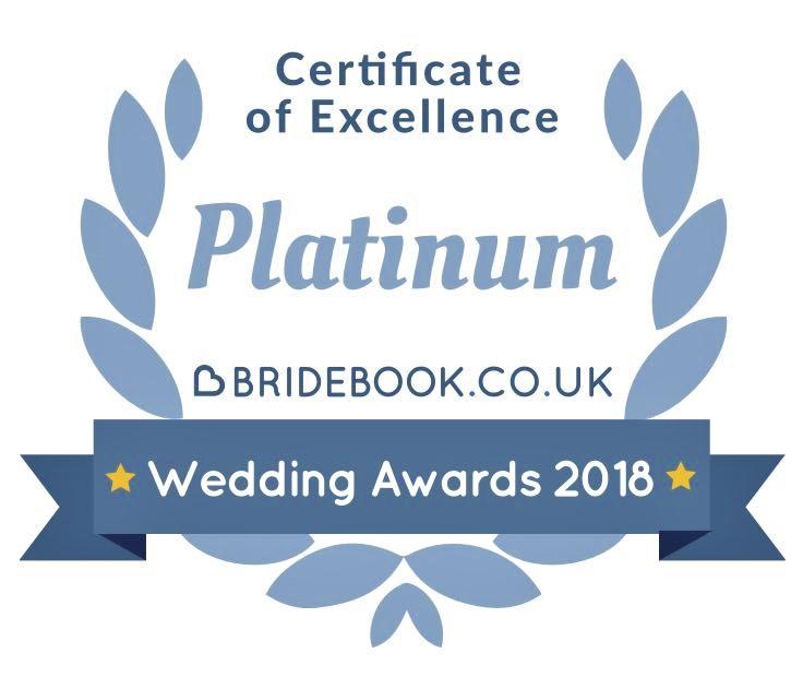 Bridebook Wedding Awards 2018