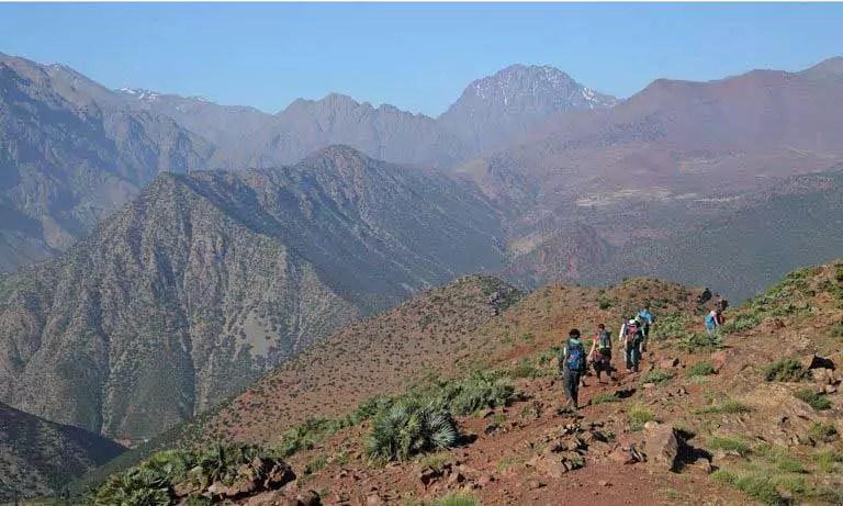 22-day atlas mountains traverse