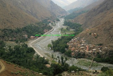 3-day Imlil ourika valley trek