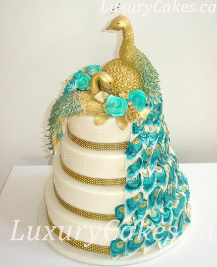 Peacock Cake   Amazing Cake Ideas Peacock Cake