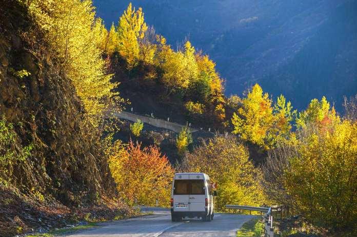 Autumn Svaneti, Georgia
