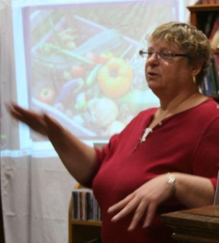 Margaret Hagen gave our Workshop Grow Your Own Food