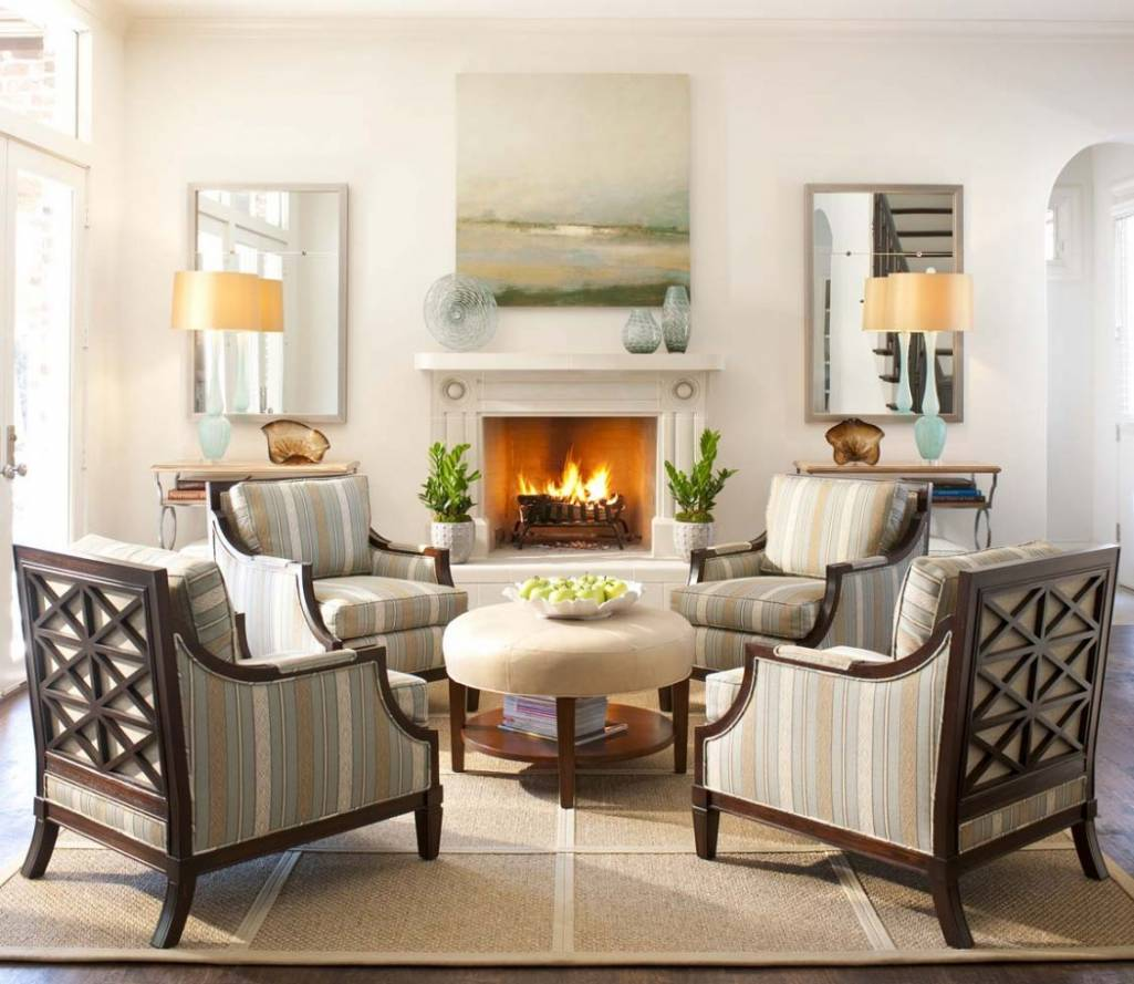 Create Magic With Four Chairs In Living Room