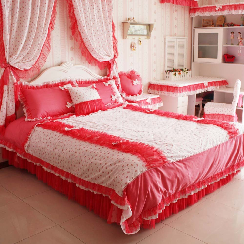 Creative Ideas For Valentines Day Bedding Curtains