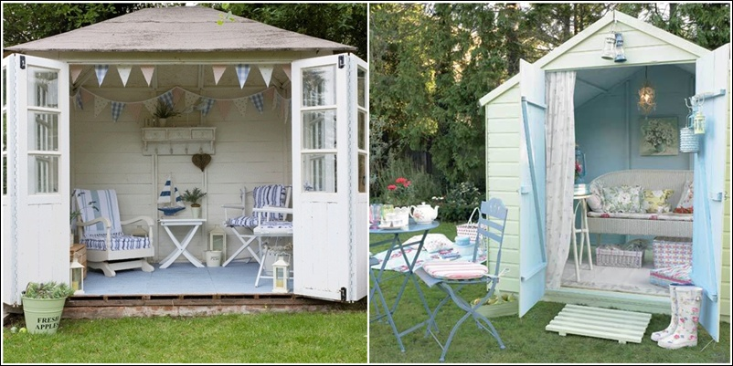 Transform Your Garden Shed Or Greenhouse Into A Relaxing