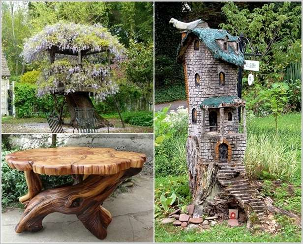 Outdoor Decorating Use For Bird Houses