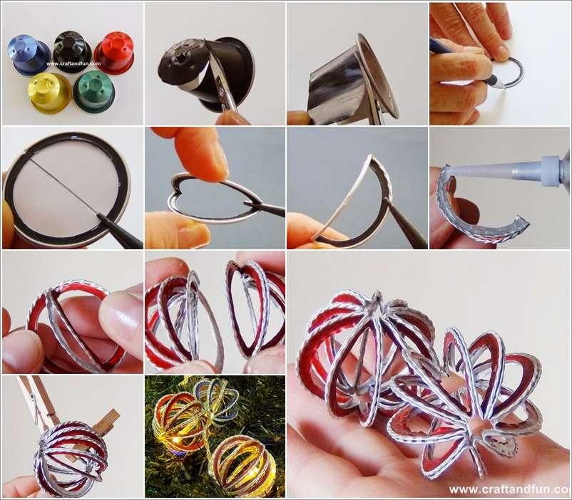 10 Creative Nespresso Coffee Pod Christmas Craft Ideas