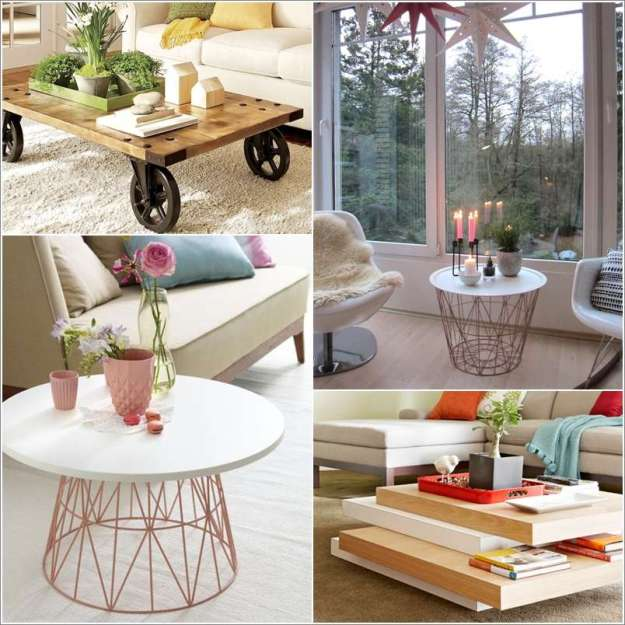15 awesome diy coffee table ideas for your living room