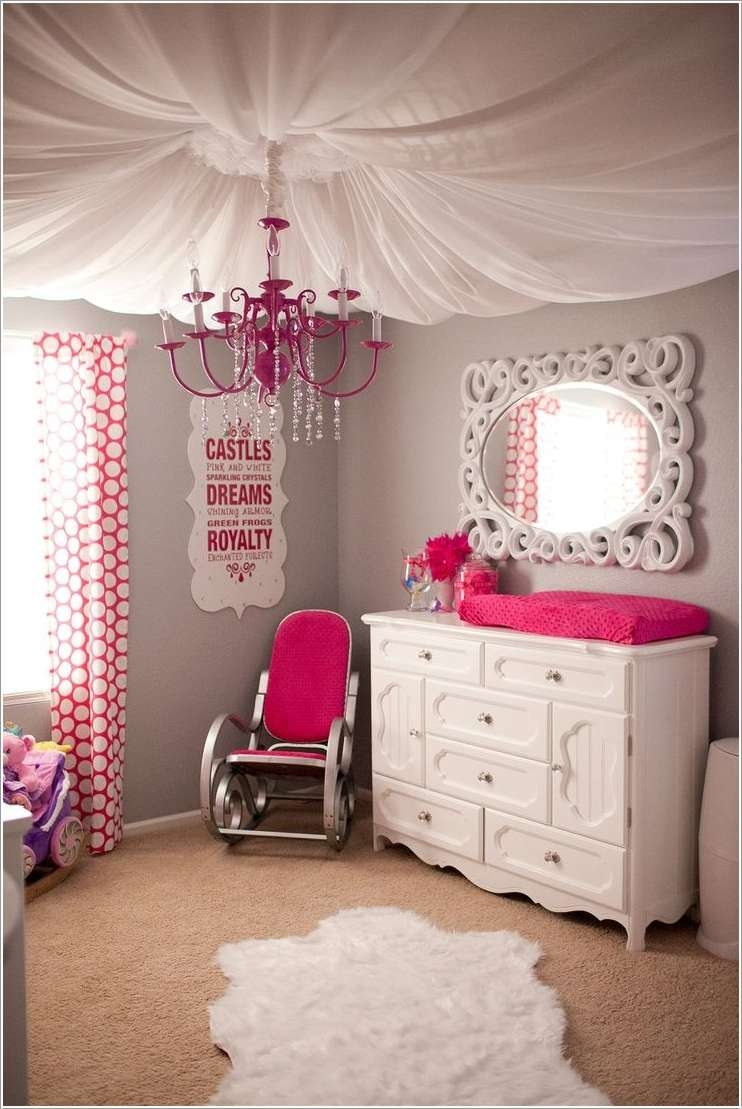 10 Super Cute DIY Ideas For Your Little Girls Room