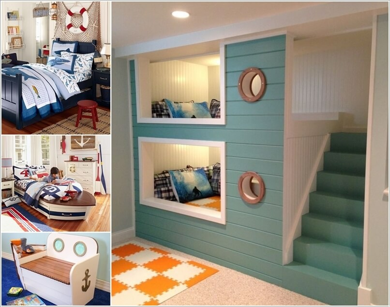 10 Cool Nautical Kids  Bedroom Decorating Ideas 10 Cool Nautical Kids  Bedroom Decorating Ideas a