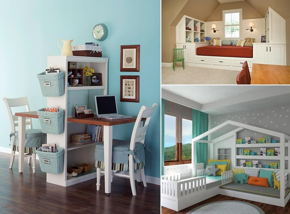 10 Fabulous Multi Purpose Furniture Designs For Your Kids Room