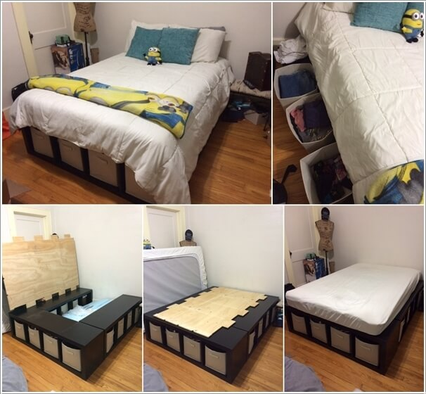 Storage Small Diy Ideas Bedroom