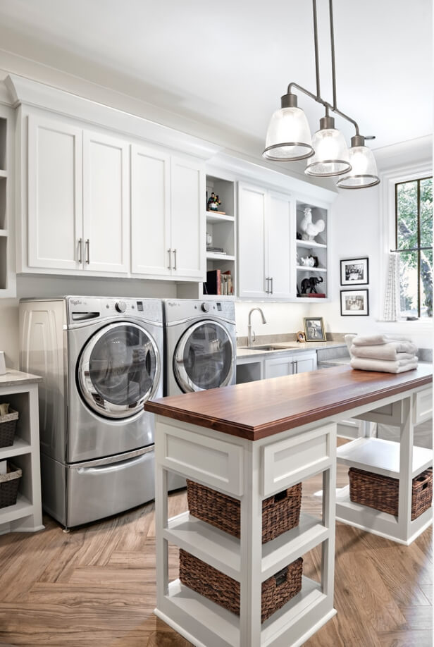10 Laundry Room Islands That Are Functional And Stylish