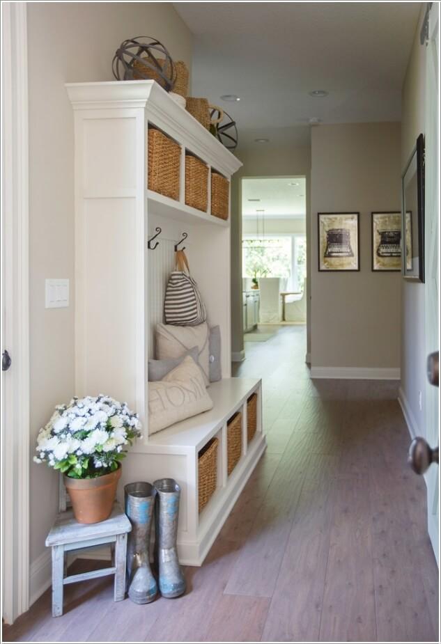 10 Clever Hallway Storage Ideas