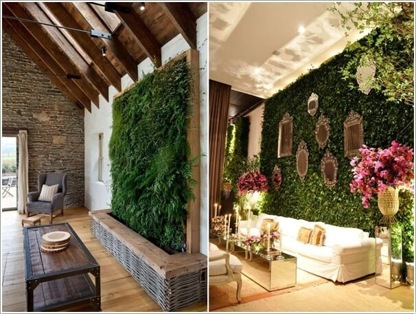 Image Result For Nature Inspired Wallpaper Decor For Living Area
