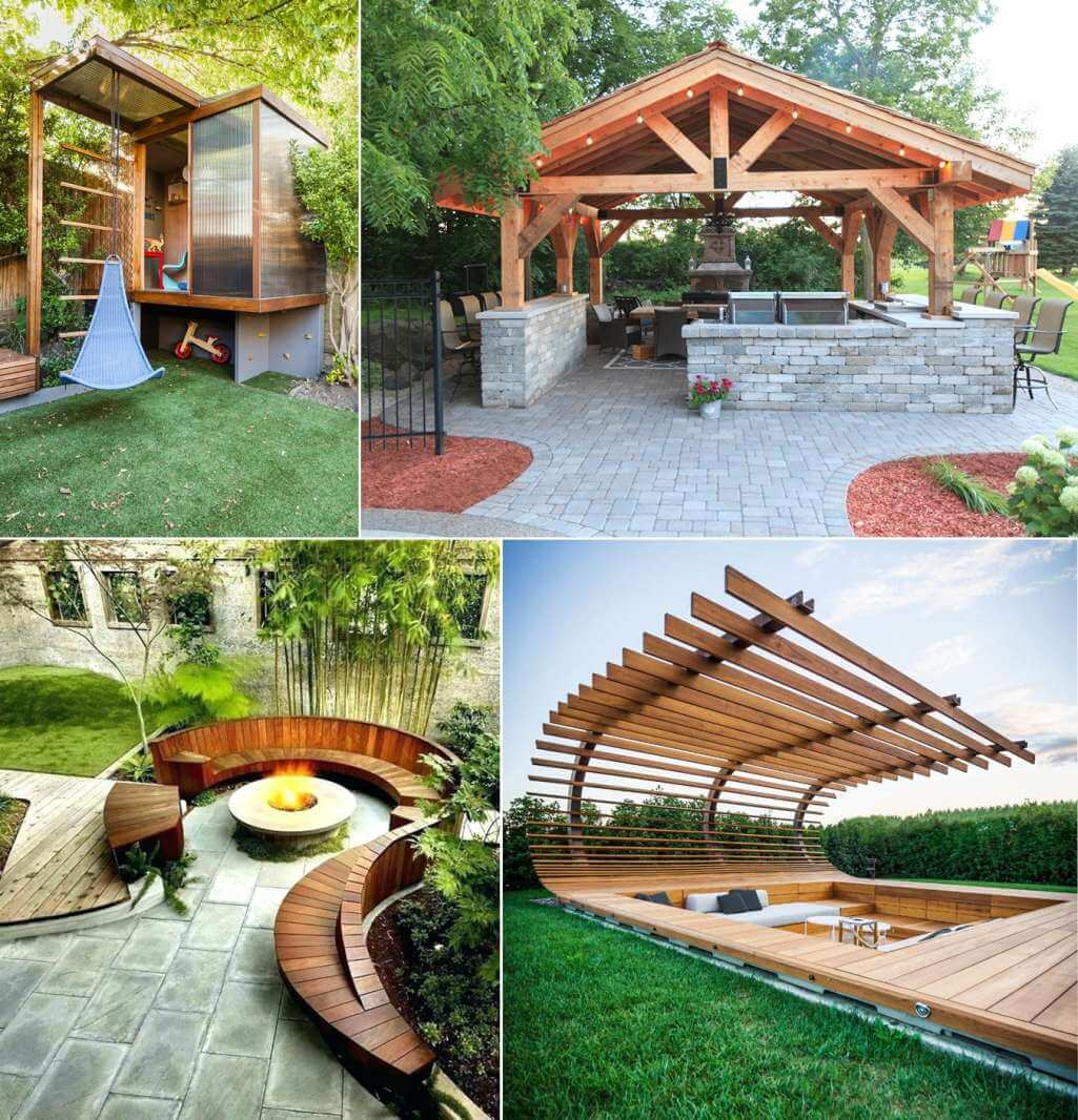 10 Cool Outdoor Structures