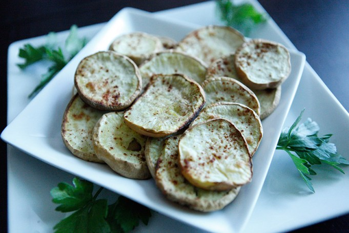 Coconut Cinnamon Sweet Potatoes