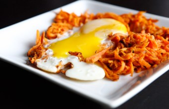 Paleo Sweet Potato Hash with Sunny Side Up Egg
