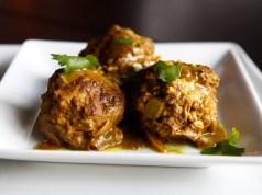 Paleo Curry Meatballs