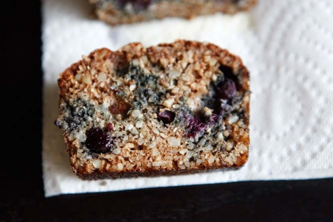 Blueberry Bread A Gluten Free Dairy Free And Paleo Recipe