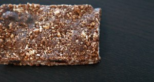 Chocolate Date Granola Bar