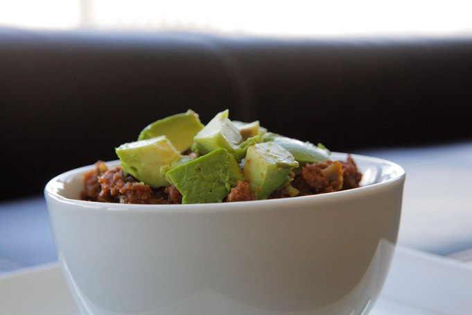 Paleo Crockpot Turkey and Pumpkin Chili