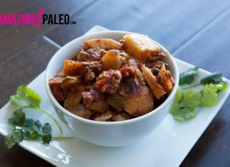Paleo Slow Cooked Turkey and Sweet Potato