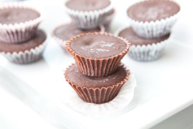 Mini Paleo Fudge Cups