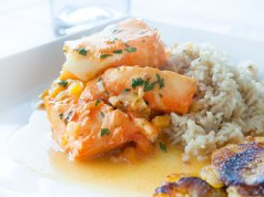 Paleo Diet Sea Bass in Coconut Sauce Recipe
