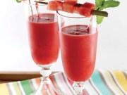 Wake up to watermelon paleo smoothie recipe