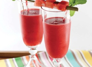 Wake up to watermelon paleo smoothie recipe