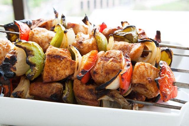 Paleo Chicken Skewers Recipe