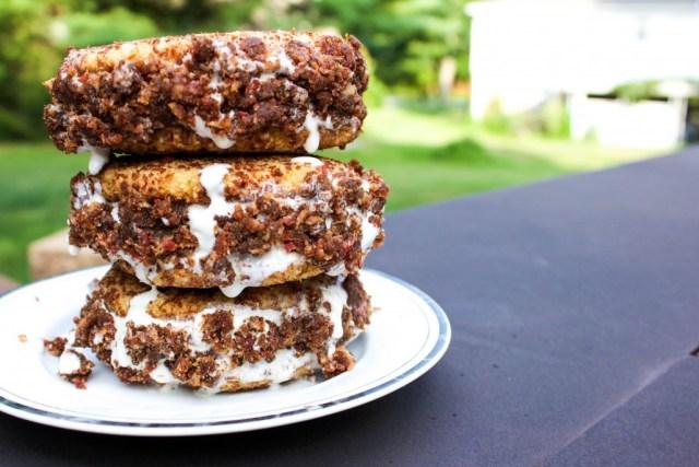 Paleo Bacon Snickerdoodle Ice Cream Sandwich
