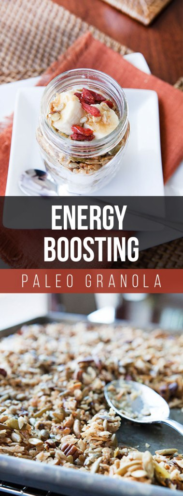 Energy Boosting Paleo Granola