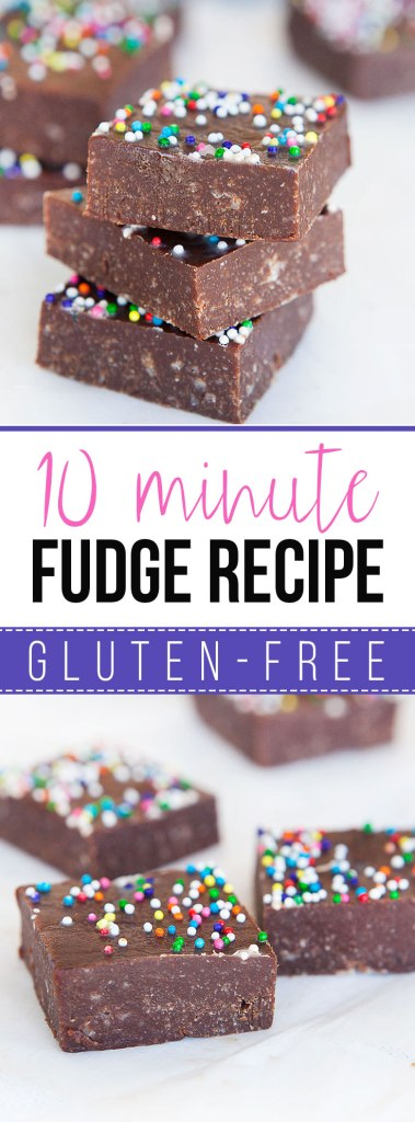 10 Minute Fudge