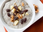 White Chocolate Chia Pudding