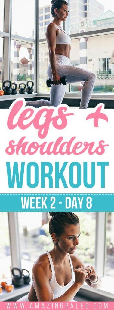Week 2 Day 8 Workout