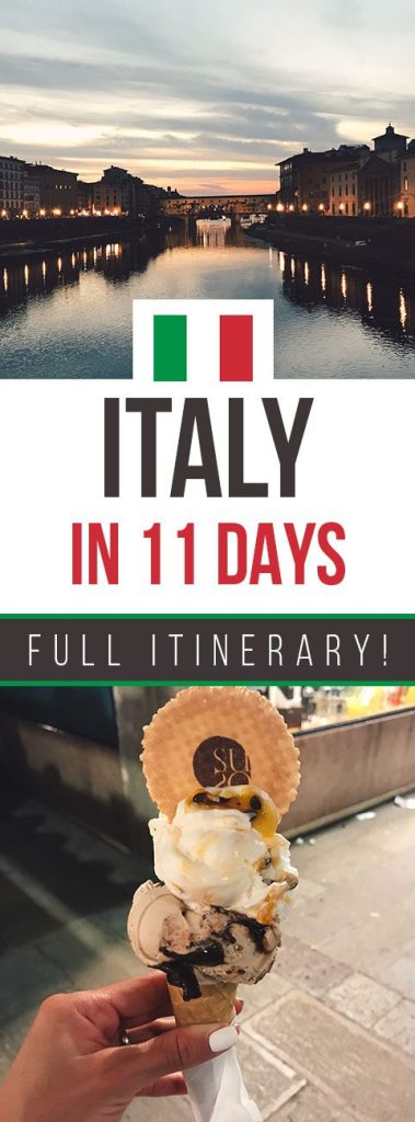 Tour Italy in 11 Days