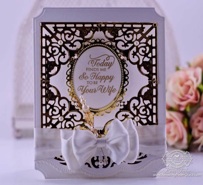 Card Making Ideas By Amazingpapergrace Com Using Justrite Filigree Corners With Mix And Match Sentiments