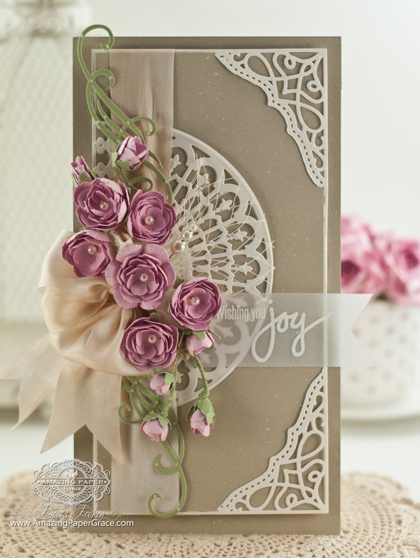 Introducing Cinch And Go Flowers Amazing Paper Grace