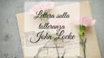 Lettera sulla tolleranza, di John Locke