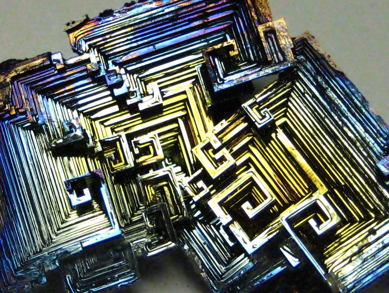 You can melt raw bismuth in a pot on your stove and it resolidifies into beautiful, rainbow colored, fractal shapes