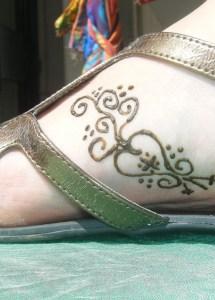 foot heart