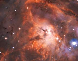 Lagoon Nebula Captured by In First Imagee from Speculoos Instrument | Digital Trends