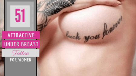 51 Under Breast Tattoos For Women   Amazing Tattoo Ideas 51 Attractive Under Breast Tattoos For Women